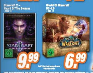[LOKAL] Starcraft 2: Heart of the Swarm 9,99€ und World of Warcraft: Battle Chest 4.0 6,99€ bei Expert Burgdorf/Lehrte