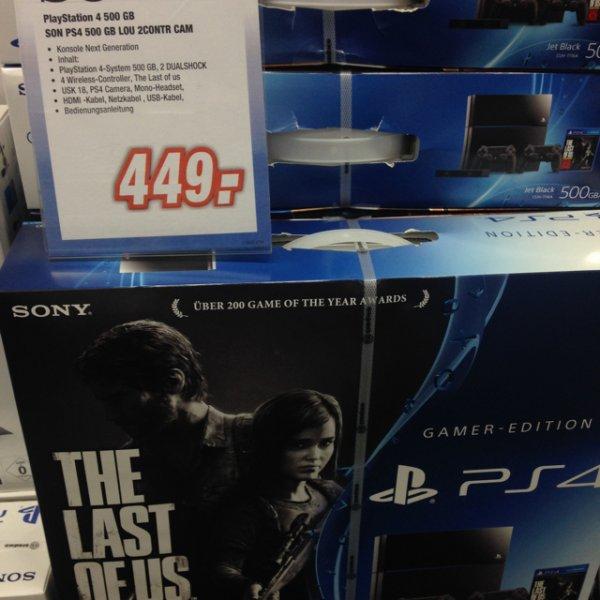 [Lokal?] Expert - PlayStation 4 + 2. Controller + TLOU + Kamera
