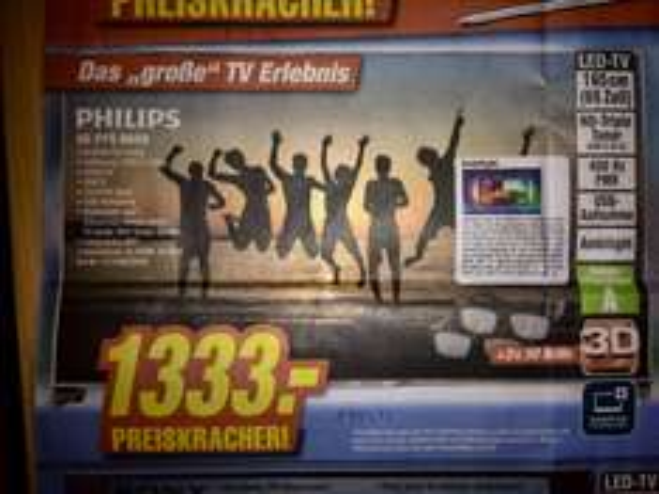 [Lokal] Philips 65PFS6659 bei Expert in Dinslaken, Neuss, Simmerath, Dormagen und Kamp-Lintfort