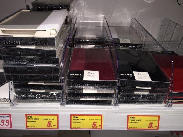 Sony PRS-T2 E-Reader Einband / Hülle (LOKAL Media Markt Essen) für 5,-
