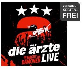 Die Ärzte -LIVE - DIE NACHT DER DÄMONEN 5 LP Box für 19,00 € bei Saturn Online