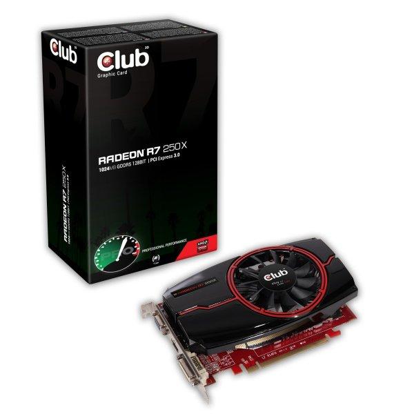 Club3D Radeon R7 250x 1024MB GDDR5 für 69,35€ @Amazon.it