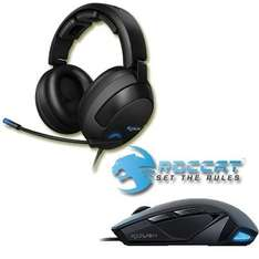 Gaming Mouse & Gaming Headset Roccat