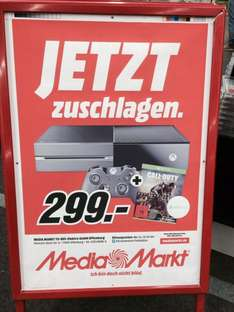 Lokal: Mediamarkt Offenburg Xbox one mit Call of Duty: Advanced Warfare für 299.- €