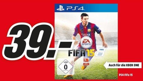 [lokal]Fifa 15 PS4/XBOX ONE für 39,- @MM Wetzlar