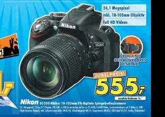 Lokal (Ratingen) Nikon d5200 inkl. Kit objektiv 18-105mm