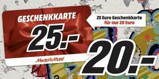 8.11 - 11.11 Media Markt 25 Jahre Mauerfall Special 25€ Gutschein für 20€