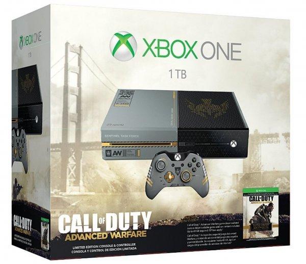 Xbox One 1TB + Call of Duty: Advanced Warfare Limited Edition + Call of Duty Controller für 475,39€ @Amazon.fr