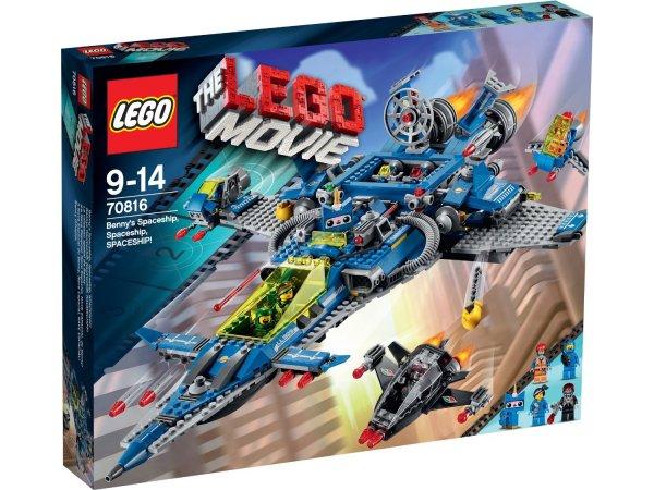 [Amazon.UK] LEGO - The Movie - Bennys Raumschiff 70816 für 75,50€ inkl. Versand (88€ Vergleichspreis)