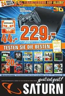 Saturn BS: Crysis 2, Alice Madness Returns, Shadows of the Damned (PS3) je 20€