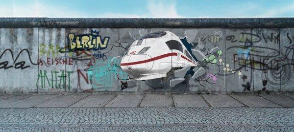 Mauerfall-Spezial Ticket Deutsche Bahn buchbar nur am 09.11.2014 - einmal quer durch Deutschland für 25€