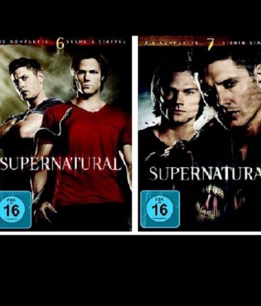 Supernatural Staffel 6+7 zusammen (DVD) bei alphamovies