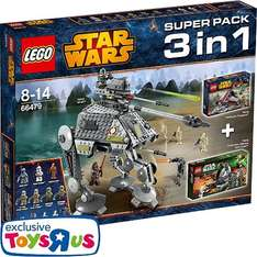 [Toys R us] LEGO® Star Wars - 66479 Value Pack 3 in 1 (75015 + 75035 + 75043) 69,98 €