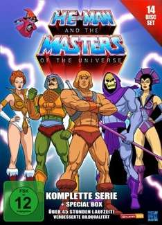 [DVD] He-Man and the Masters of the Universe - Die komplette Serie + Special Box @ Alphamovies