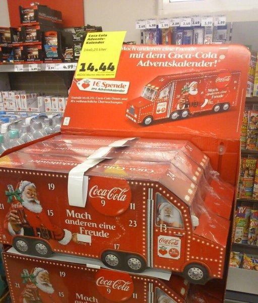 Coca Cola Adventskalender @ PennyFramstag