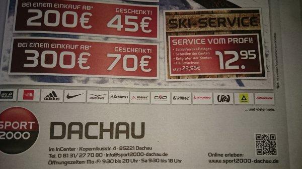 [Lokal] Dachau Ski-Service 12,95