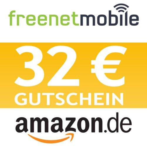 """[ebay] 32€ Amazon Gutschein mit """"kostenlosem"""" klarmobil freenet DuoSimKarte"""