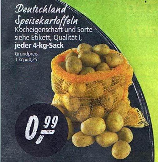 Real - 4 kg Kartoffeln für 99 ct