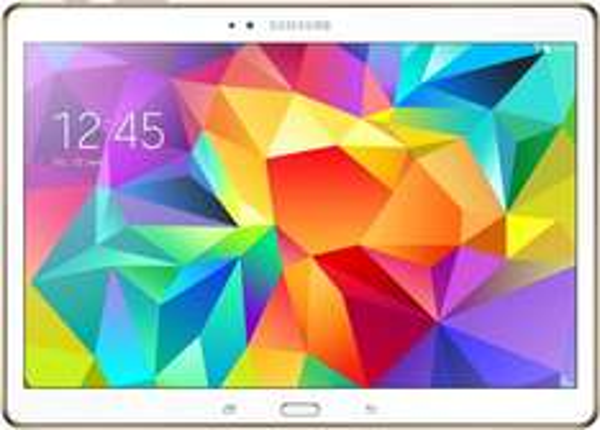 [Amazon.de] Samsung Galaxy Tab S 26,7 cm (10,5 Zoll) WiFi Tablet-PC (Quad-Core, 1,9GHz, 3GB RAM, 16GB interner Speicher, Android) weiß für 349€ / mit LTE: 407,59€