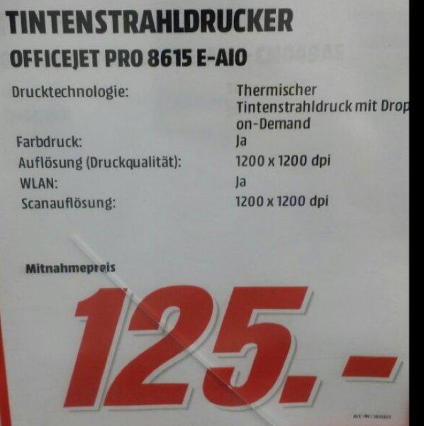 Lokal Mediamarkt weiterstadt - HP officejet Pro 8615