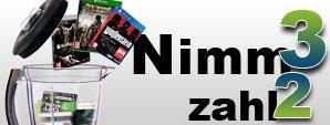 Nimm 3 zahl 2 Aktion bei Gamesonly.at für PS4