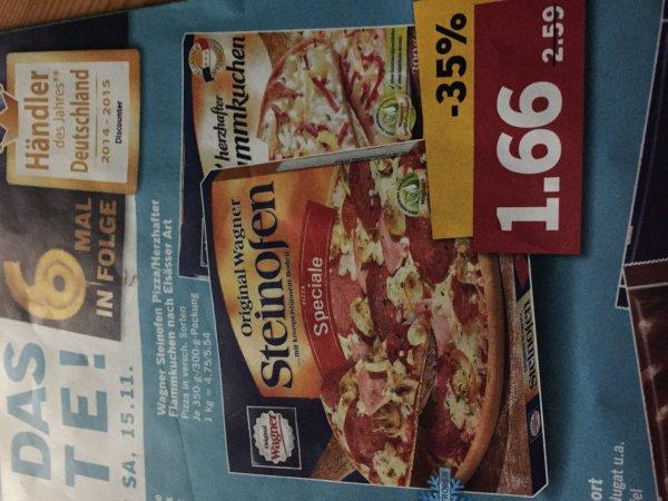 Wagner Steinofen Pizza/Herzhafter Flammkuchen bei Lidl (Bundesweit)