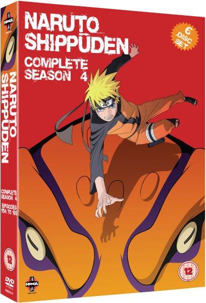 DVD Naruto / Shippuden Staffelboxen bei zavvi für €12.99