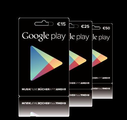 [Media Markt bundesweit] Google Play 50€ Guthaben für 40€