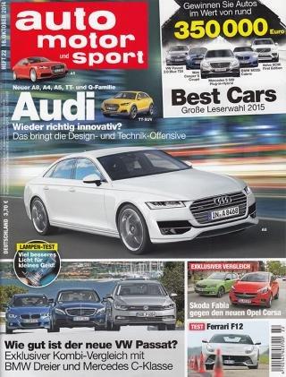 Auto Motor Sport Jahresabo für 22,70€ (Bargeld) (oder 17,70€ bis 7,70€ mit Gutscheinen)