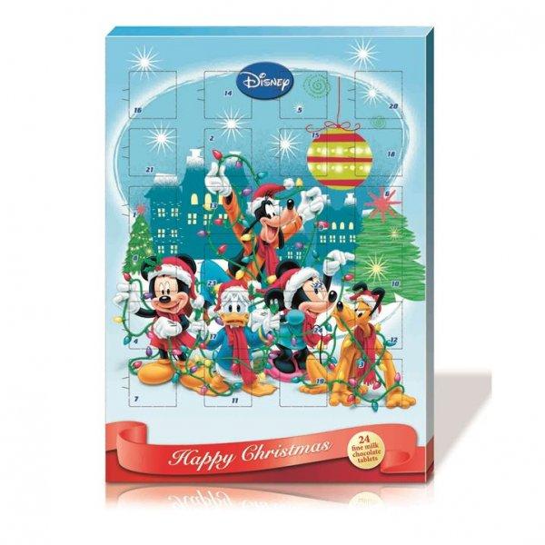 Disney Adventskalender Weihnachtskalender mit Schokolade 65g 1,80€/Kalender (zzgl. 5,99€ Versand)
