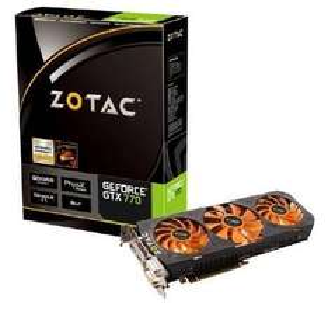 Zotac GeForce GTX 770 2GB GDDR5 Grafikkarte 2xDVI/HDMI/DP @cyberport