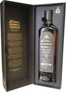 Whiskey Bushmills 21 Madeira Finish - 79,69 inkl. Porto