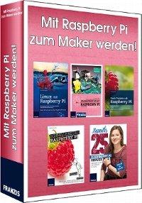 Raspberry Pi in 5 E-Books: Projekte, Wissen und vieles mehr. 29,95€ (~90,--€ Thalia) als Download @elo-web.de