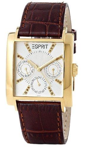 [Amazon] Esprit Damenuhr Dynasty Gold (4411110) mit Lederarmband für 34,51€ incl.Versand!