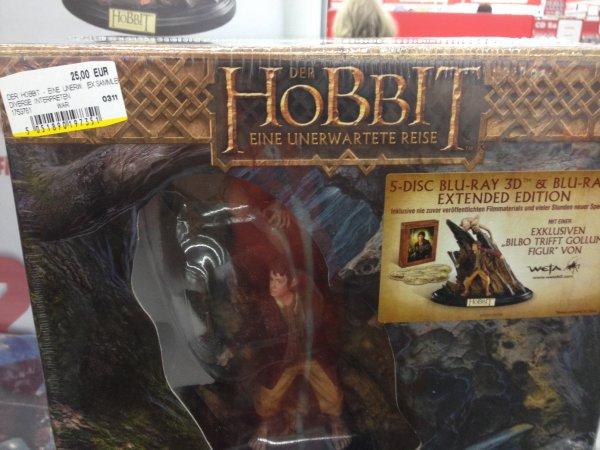 [MM Egelsbach] Der Hobbit - Eine unerwartete Reise Extended Edition (3D) (Special Edition mit Sammelfigur) (Blu-ray)