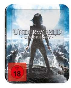 [Blu-ray] Underworld Quadrilogy (Steelbook, inkl. 3D) @ Alphamovies