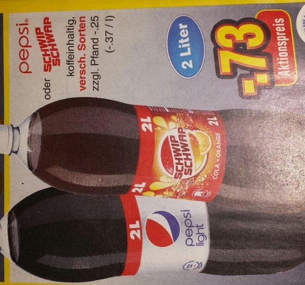 Pepsi oder SCHWIP SCHWAP 2L[NETTO MARKT]