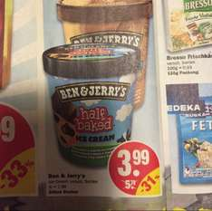 Ben and Jerry's Ice Cream 500ml für 3,99€ @NP