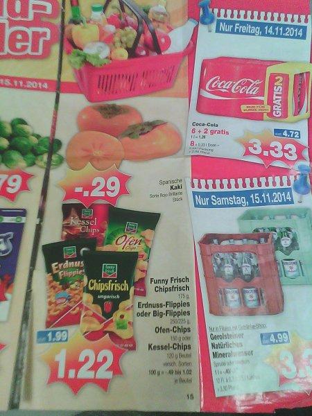 Funny Frisch Chipsfrisch 1.22€ zum Wochenende