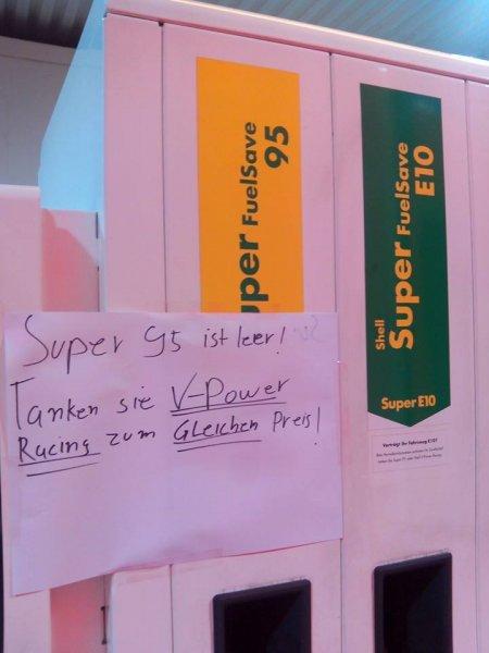 Hannover Döhren: Shell V-Power Racing und V-Power Diesel zum Preis von Super/Diesel -3cent pro Liter Gutschein