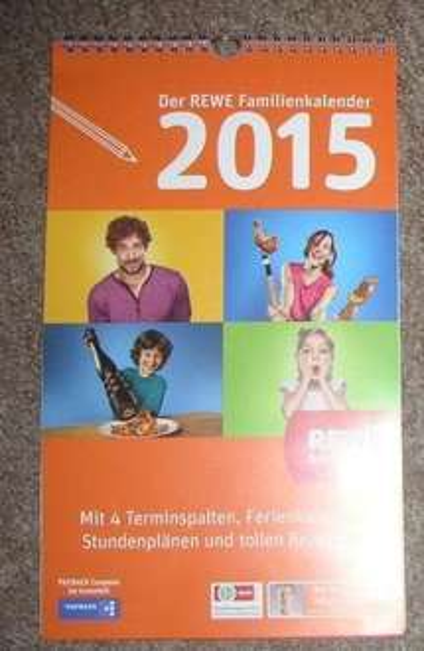 REWE Familienkalender 2015