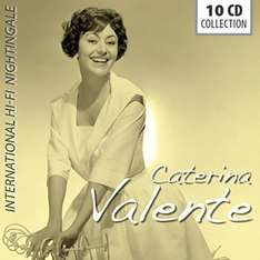 "Amazon Prime : CATERINA VALENTE 10-CD-Set ( 212 Songs)  ""International Hi-Fi Nightingale"" für Nur 16,99 €"