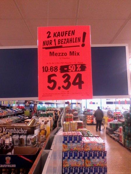 Mezzomix 5.34€ anstelle 10.68€ (2 zum Preis von 1) Lidl Lokal? (Geisenheim)