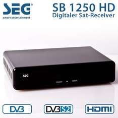 SEG SB 1250 HD Satelitten Receiver HDTV HDMI Sleep Timer DVB-S2  EBAY WOW 22 Euro