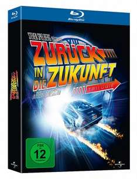 [Amazon Prime!] Zurück in die Zukunft Trilogie [Blu-ray] Collectors Edition für 13,97€