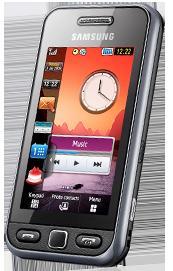 Klarmobil: Samsung S5230 schwarz