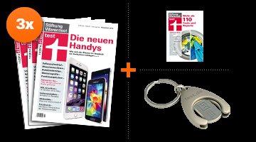 Stiftung Warentest Jahrbuch 2015 & 3 Zeitschriften Probeabo