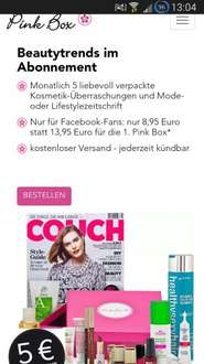 pinkbox November 8,95€