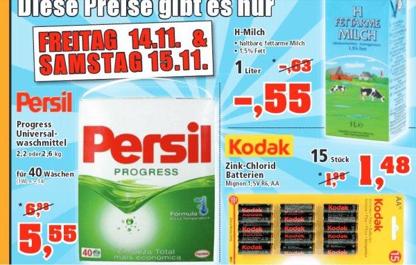 [ thomas-philipps ]  15 Stück Kodak Mignon 1,5V AA Batterien 1,48€