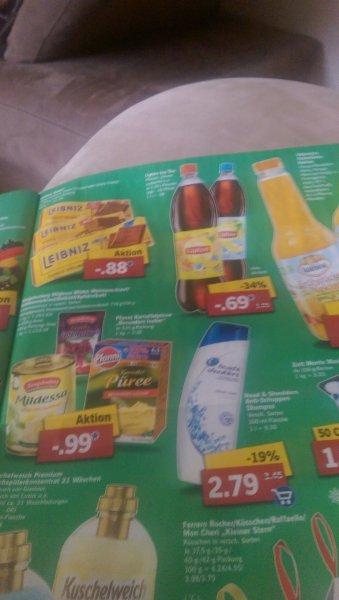 Lipton Ice Tea 1,25 l Pfirsich/Zitrone für 0,69€ zzgl. Pfand [Lidl] (bundesweit?)